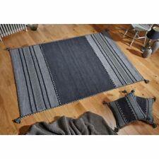 Tappeti grigi in misto cotone per la casa