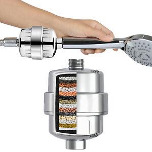 Shower Filter Water Filter Softener Hard Water Purifier Shower Head Universal UK