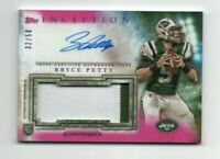 Bryce Petty 2015 Topps Inception 2 CLR JSY RC Rookie Auto Autograph /50