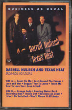 Darrell Nulisch & Texas Heat - Business As Usual (Cassette Tape) **BRAND NEW**
