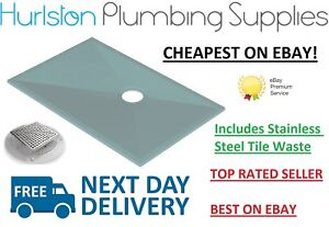 CHEAPEST ON EBAY **ALL SIZES** AKW Tuff Form Wetroom Formers Inc SS Tiled Waste