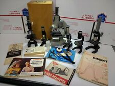 Lot of Vintage Toy Microscopes for Parts
