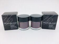 2-pk Youngblood Crushed Mineral Eyeshadow 'Eggplant' 0.07oz New Sealed C25 AA
