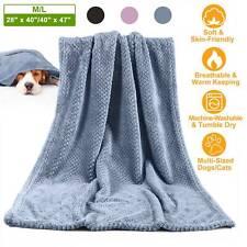 Soft Pet Blanket Medium Large Dog Puppy Cat Warm Throw Blanket Bed Mat Cushion