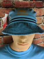 Kappa Bucket Hat Blue Gold Black Size 56 New With Tags Free Shipping