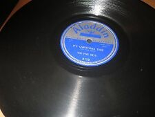 78RPM Aladdin 3113 The Five Keys, It's Christmas Time / Old Macdonald  sharp E