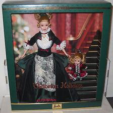 #7150 NRFB Mattel Victorian Holiday Barbie & Kelly Giftset