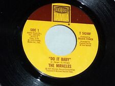 Miracles: Do It Baby / I Wanna Be With You  [Unplayed Copy]
