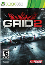GRID 2 (XBOX 360) Brand New sealed ships NEXT DAY W CASE & GAME