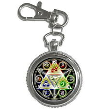 The Legend of Zelda Stainless steel Key Chain / Key Ring Watch Unisex Gift New