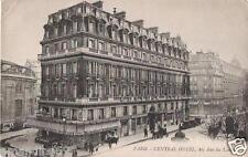 75 - PARIS - CENTRAL HOTEL, 40 rue du Louvre