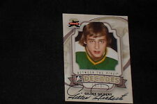 GILLES GILBERT 2012 IN THE GAME BETWEEN THE PIPES SIGNED AUTOGRAPHED CARD #119
