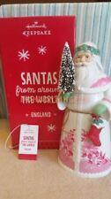 Hallmark 2013 Santas From Around The World England Porcelain Tabletop