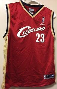 Cleveland Cavaliers LeBron James Youth Jersey Reebok Large
