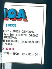 Figurina Calciatori Edis 1977-78! Genoa! N.98! Ottima!!