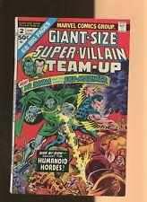 Giant-Size Super-Villain Team-Up 2 FN+ 6.5 * 1 Book Lot * Sub-Mariner! Dr. Doom!