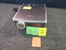 CANON MULTIMEDIA DATA PROJECTOR REALiS SX6 LCD PRESENTATION THEATER USED WORKS C