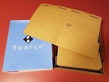 "Sparco Classification Folders 1 Divider 2/"" Exp Letter 10//BX MLA SP17271"