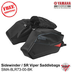 NEW OEM Yamaha Sidewinder SRViper Saddlebags LTX RTX STX XTX SRX SMA-8LR73-00-BK