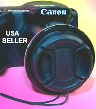 SX70HS : SNAP-ON LENS CAP DIRECTLY to CANON POWERSHOT SX70 HS CAMERA+HOLDER