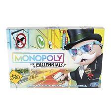 MONOPOLY FOR MILLENNIALS MILLENIALS MILENNIALS BOARD GAME Brand New