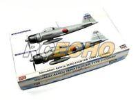 Hasegawa Aircraft Model 1/72 Mitsubishi A6M2a Zero Type 11 Combo 02002 H2002