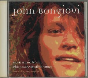 Bon Jovi  CD  MORE MUSIC FROM THE POWER STATION YEARS © 1997  JAPAN