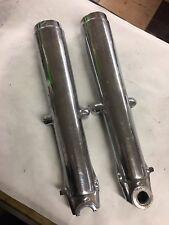 Panhead Shovelhead Chrome 41mm Lower Fork Tube Leg Chopper Bobber