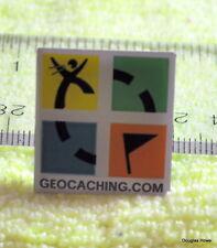 Geocaching Hat/Lapel Pin Original Design Logo