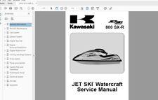 DOWNLOAD SERVICE MANUAL 2003 2011 kawasaki jetski SXR JS 800