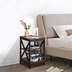3 Layer Coffee Desk Multifunctional Tea Table Indoor Furniture