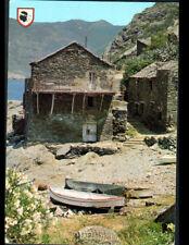 PINO (CORSE) BARQUES & NASSE de PECHEUR aux VILLAS en 1975