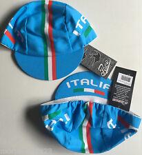 ITALIA TEAM CYCLING CAP NEW BIKE RIDE HAT BLUE