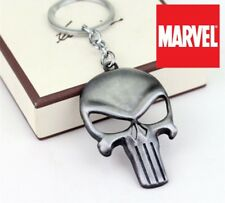Marvel Comics The PUNISHER LOGO  Frank Castle Movie metal Key chain cosplay