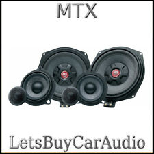 NEW MTX TX6.BMW 3-WAY COMPONENT SPEAKER UPGRADE BMW E & F SERIES, MINI, X3, X5