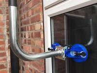 SATELLITE DISH BRACKET MOUNT KIT FOR WINDOW TRUCK COURT FLATS APARTMENTS 250MM