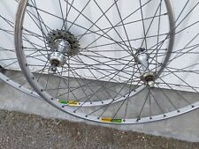 roues vélo course 700mavic MA2 race old BIKe wheel set bici vintage eroica road