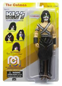 """Mego Music Icons KISS The Catman 8"""" Action Figure"""