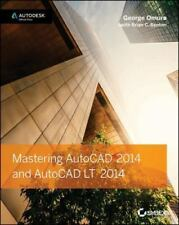 Mastering AutoCAD and AutoCAD LT by George Omura and Brian C. Benton (2013, Pap…