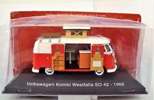 VOLKSWAGEN  COMBI  CAMPER WESTFALIA  SO 42 19666 - HACHETTE / IXO - 1/43