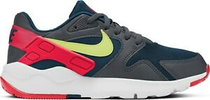 Nike LD Victory (GS) Trainer Sports Fitness Running Walking Gym Deep Ocean /Lime