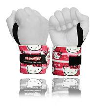 Peso Sollevamento Polso Wraps Bandage Mano Supporto Tutore Palestra Cinghie Kitty cotone