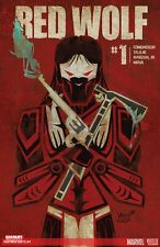 RED WOLF (2015) #1 marvel comics 1st print