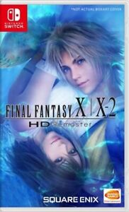 Final Fantasy X / X-2 HD Remaster (Switch)  BRAND NEW AND SEALED - IMPORT