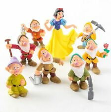 Disney Snow White and Seven Dwarfs 8pc set PVC Figures toy dolls gift NEW party