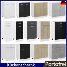 Küchenschrank Spanplatte Küche Schrank Küchenmöbel Unterschrank 30/40/50/60/80cm