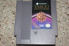 Taboo Sixth Sense (Nintendo Entertainment System Nes) Cart Only