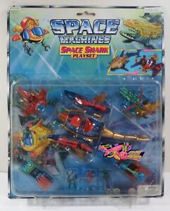 VTG 80's MULTIMAC MICRO GALAXY MONSTER SPACE MACHINES SHARK PLAY-SET SEALED B