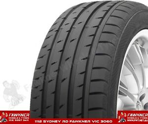 Continental ContiSportContact 3 Tyres 315/25ZR19 X2