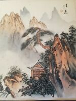Peinture chinoise / Signature à identifier